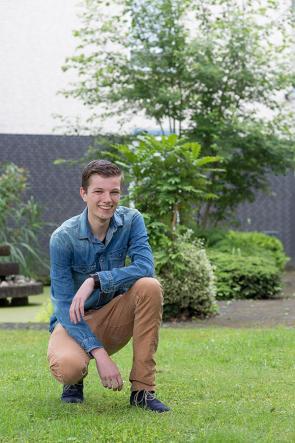 Milan Visser student Zelfstandig werkend kok en Ondernemer Horeca
