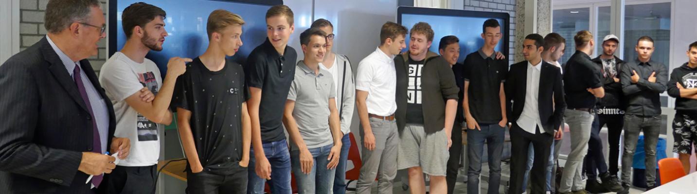 Winnaars van hackaton Astrum College Velp