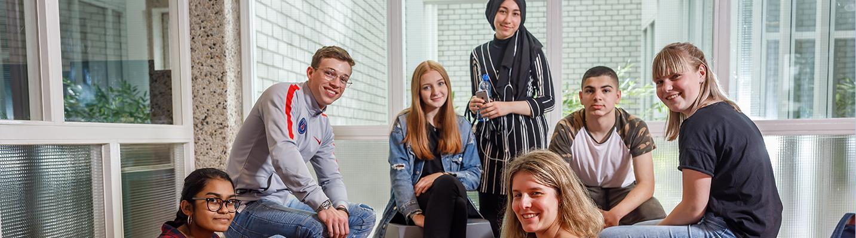 Studenten in beeld